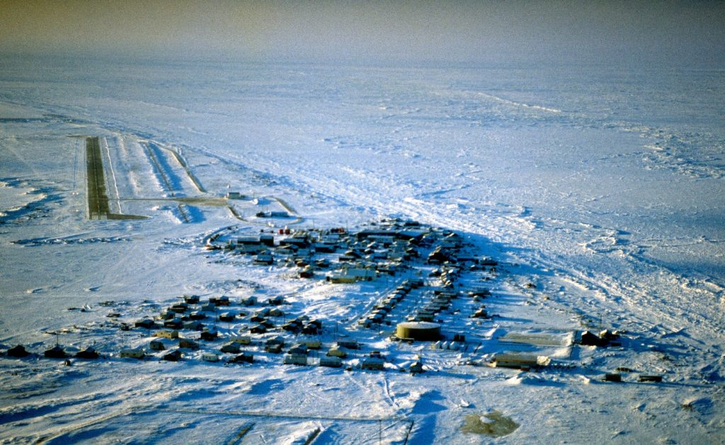 The Village of Shishmaref in Alaska
